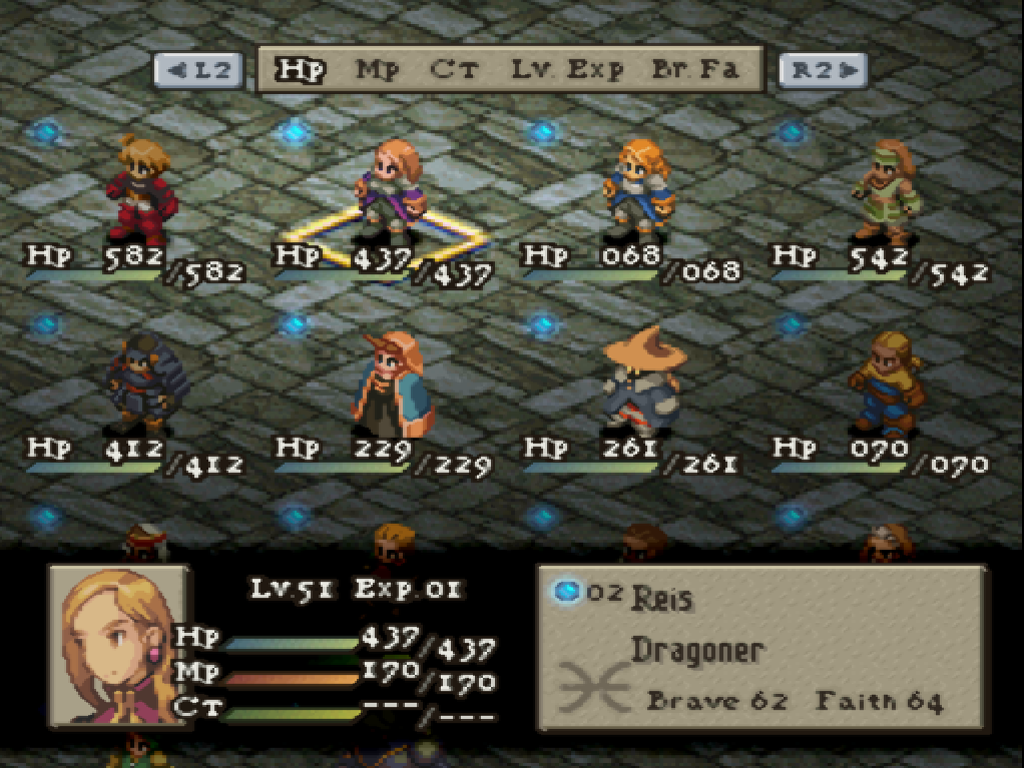 Video Games That I Played: Final Fantasy Tactics