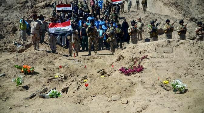 Tentara Iran Serang ISIS Setelah Temukan Kuburan Massal 1.700 Tentara Irak
