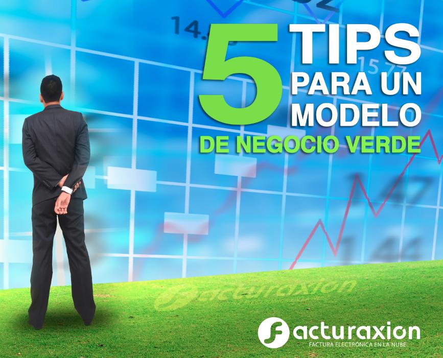 5 tips para un modelo de negocio verde