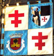 Estandarte de la Encomienda Magistral San Juan Macias de Olivenza