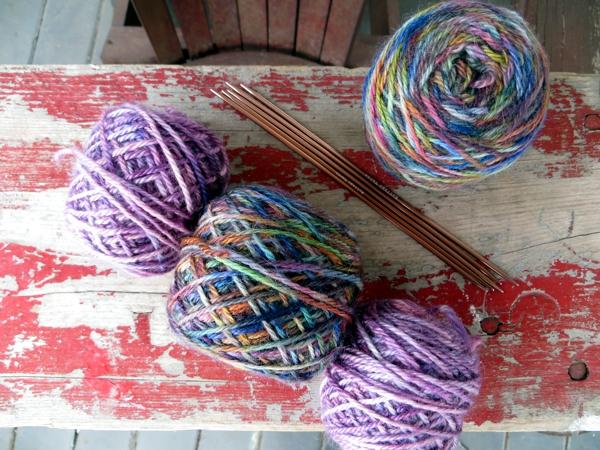 four seasons of knitting