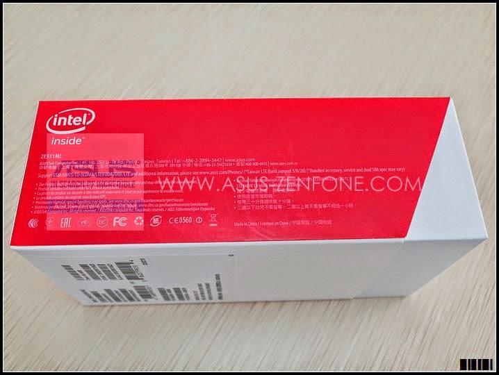 ASUS Zenfone 2 Intel Inside LOGO