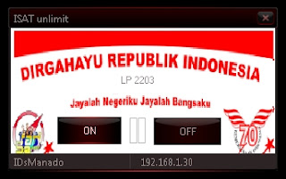 Inject Indosat unlimit 14 Agustus 2015