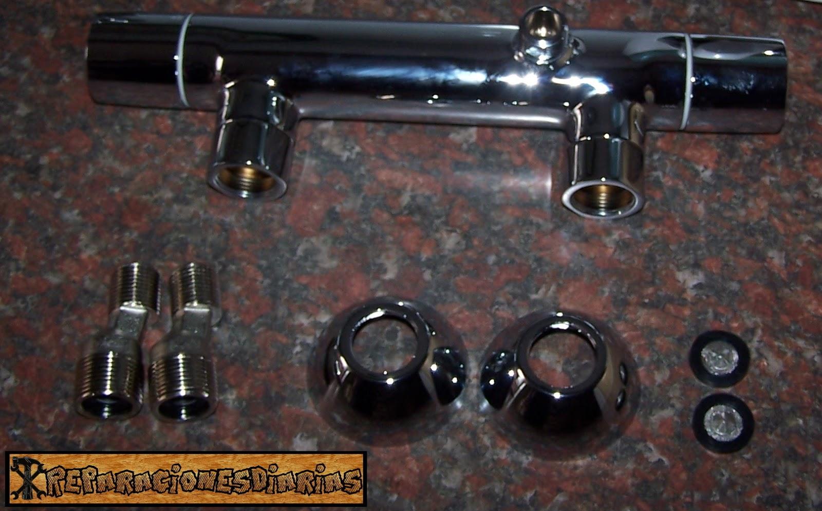 Reparacionesdiarias cambiar grifo de ducha por uno for Grifo ducha antiguo