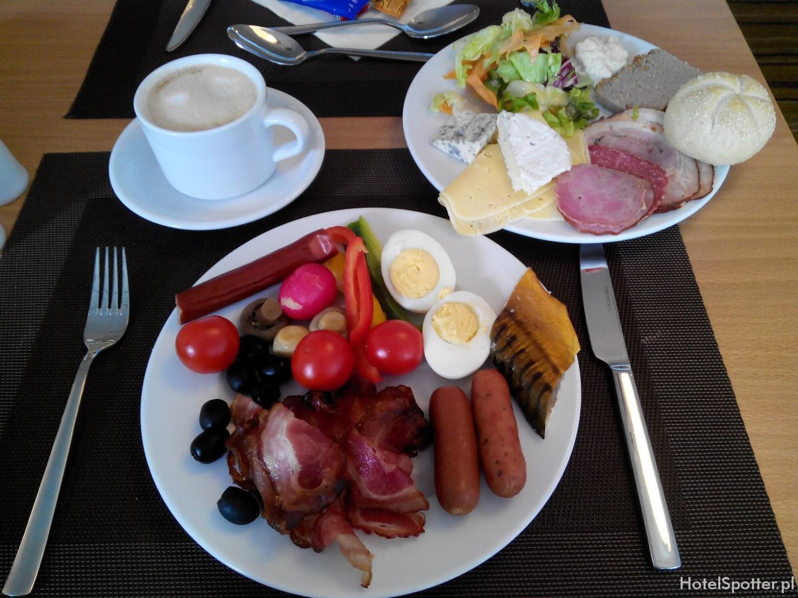 Novotel Krakow Centrum - sniadanie