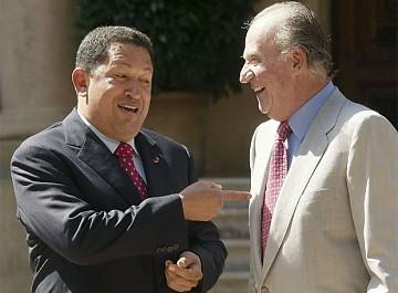 """Rey de España recordó el """"empeño y dedicación"""" de Hugo Chávez a Venezuela y envió sus condolencias a familiares"""