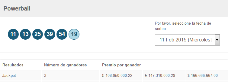http://www.grandesloterias.com/es/lottery-results-and-winning-numbers/powerball.html