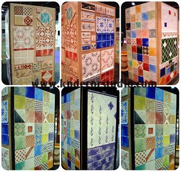 """alt=""""Variedad_de_azulejos_y_baldosas_cerámicas.Fabricación_artesanal_azulejo_de_barro_decorar_baño_cenefas_decorativas"""""""