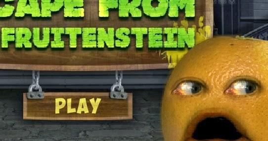 Juego de la Naranja Molesta de Cartoon, Escape From dr. fruitenstein ...