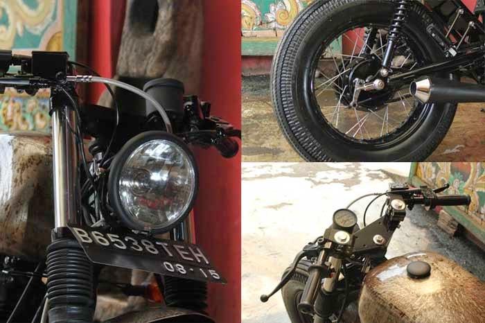 Modifikasi Scorpio Ala Motor Jadul