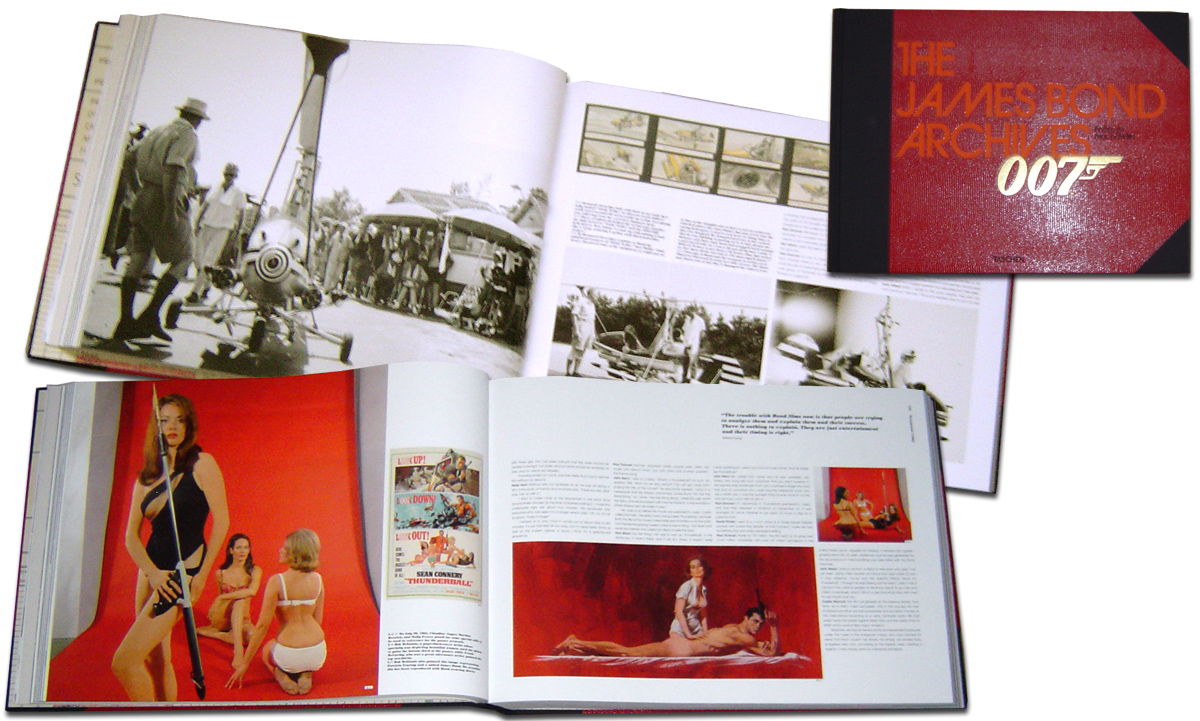 The james bond archives quot published by taschen in 2012 the book