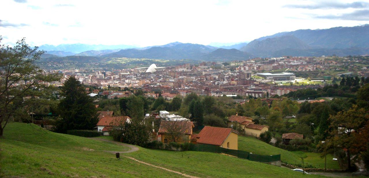 Oviedo monte Naranco vistas