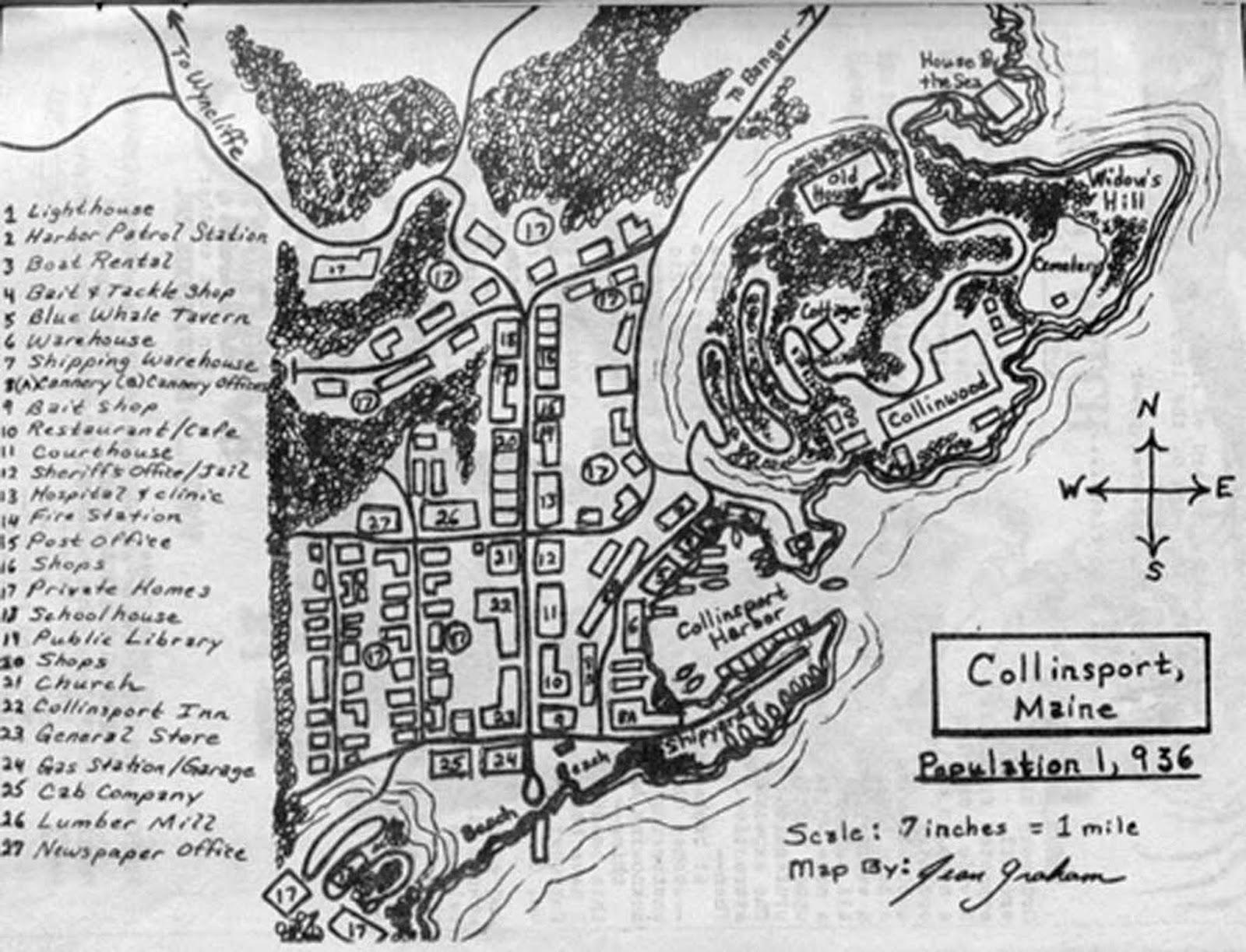 Coastconfan Blog Collinsport Arkham S Sister City A