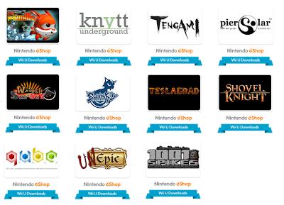 Site oficial da Nintendo é atualizado com diversos jogos indies para o Wii U Indies_wiiu