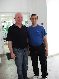 Împreună cu Prof. univ. dr. Ştefan Purici, 20.V.2011...