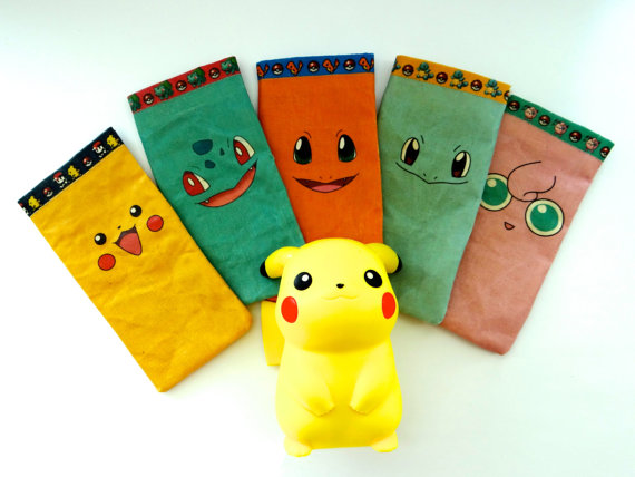 POKEMON Cellphone Cases - Pikachu, Charmander, Squirtle, Bulbasaur ...
