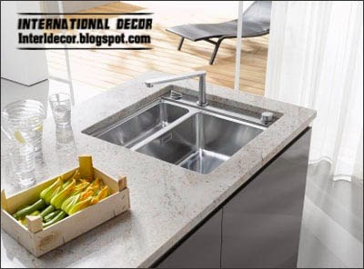 Ice bath, stone sinks for kitchen, double kitchen sink
