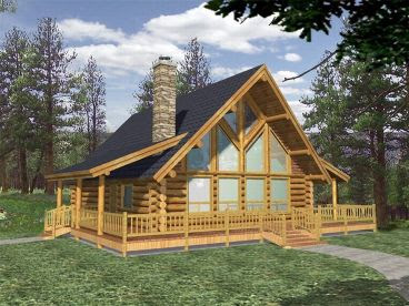 HOUSE: Log House Floor Plan : The Rustic American Design - HOUSE