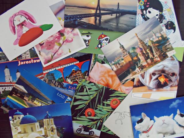 Podsumowanie wakacyjnej wymiany pocztówkami