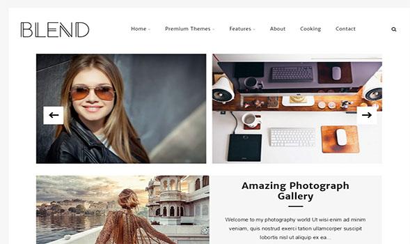 Blend-Blogger-Template