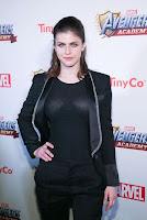 Alexandra Daddario red carpet dresses