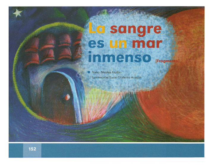 La sangre es un mar inmenso español lecturas 2do bloque 5/2014-2015