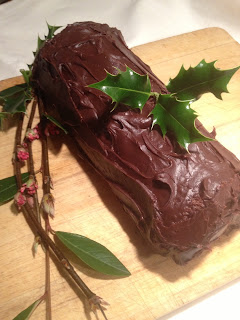 Chocolate Bûche de Noël