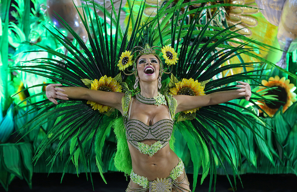 Most Beautiful Samba Dancer