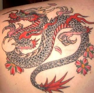 Amazing Dragon Tattoos for Girls