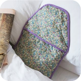 Liberty Print Hot Water Bottle DIY Tutorial