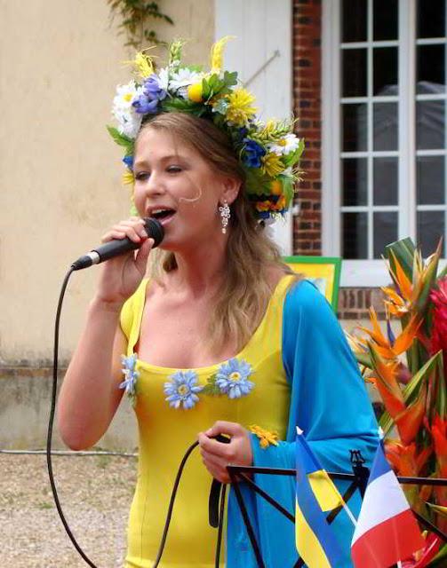 Фото Укринформ: певица Александра