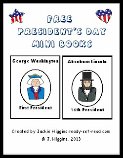 President's Day activities, free printables, free pdfs, ready set read