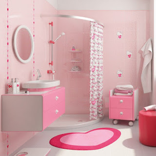 kamar mandi hello kitty minimalis