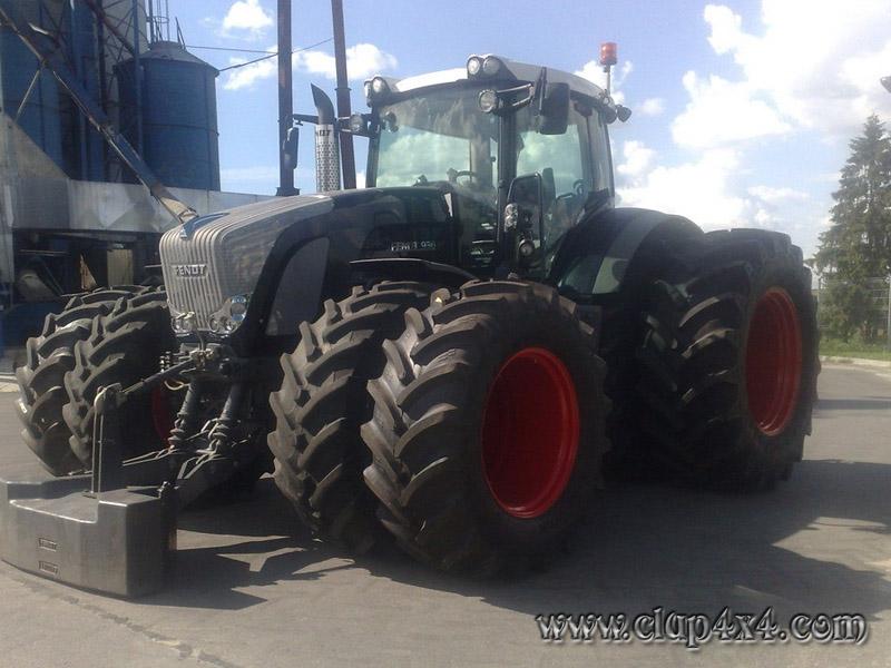Tractors Farm Machinery Fendt 936 Black Beauty