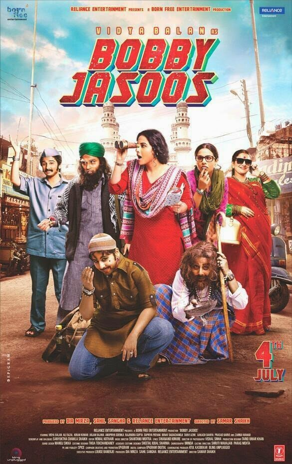 Watch Bobby Jasoos (2014) Non Retail DVDRip Hindi Full Movie Watch Online Free Download
