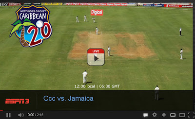 Caribbean T20 Live Streaming on ESPN ESPN2 ESPN3