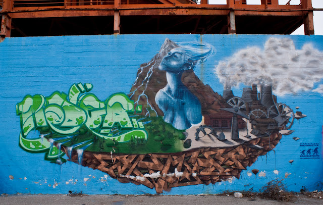 immagine: Graffiti in Parco Dora