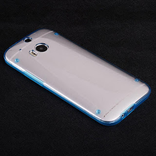 For HTC ONE M8 Ultra Thin Transparent Crystal Clear Soft Gel Hard Case Cover
