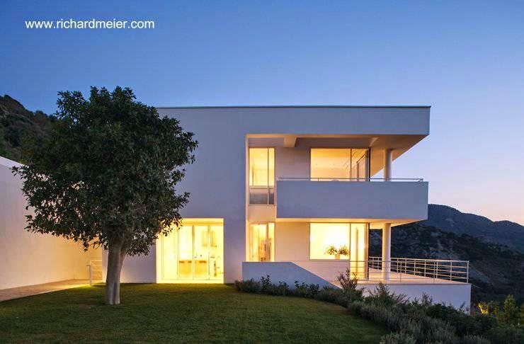Villa en Turquía proyecto de Richard Meier vista de lado