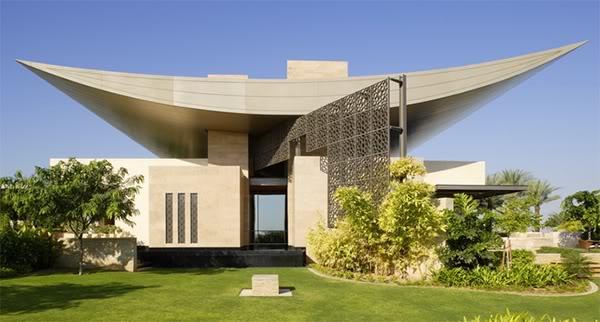 Ambassade du design design maison de luxe mirats - Limposante residence contemporaine de ehrlich architects ...