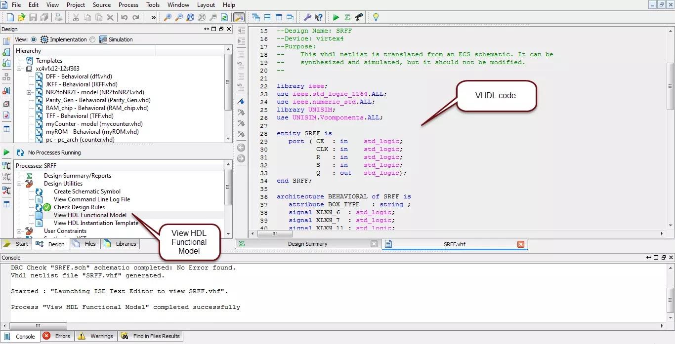 schematic d flip flop the wiring diagram sr flip flop design xilinx schematic editor applied schematic