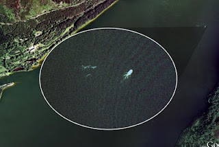 monster+lochness Foto Mengerikan Terekam Google Earth