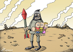 Quem quer ajudar os palestinos deve ser contra o Hamas, não Israel