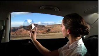 فيديو تكنولوجيا جديدة تحول نوافذ السيارة إلى شاشات تفاعلية