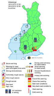Finland_weather_warning_map
