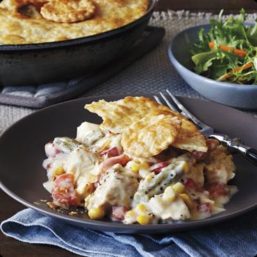 Beth's Blog: Skillet Turkey Pot Pie