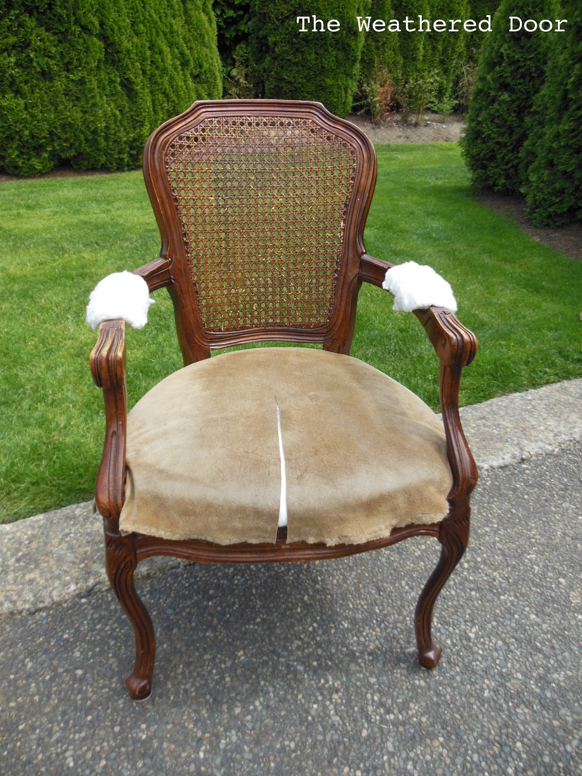 French Cane Back Chair