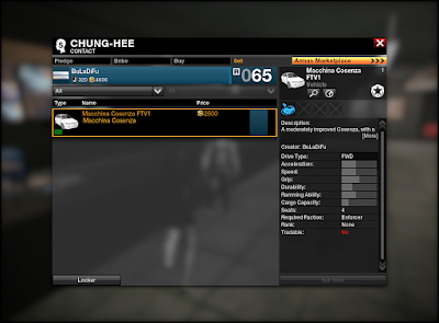 APB Reloaded - Contact Sell Tab
