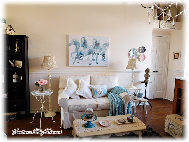 Spring and Summer Living Room Refresh