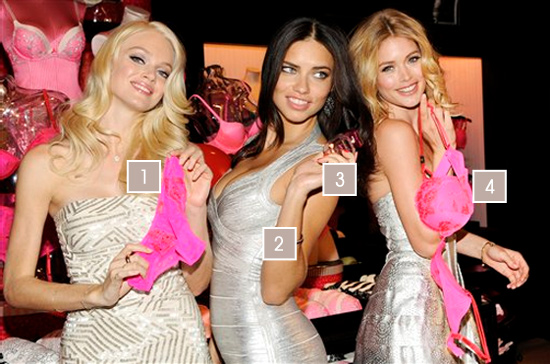 Lindsay Ellingson, Adriana Lima et Doutzen Kroes, le style des anges victoria's secret